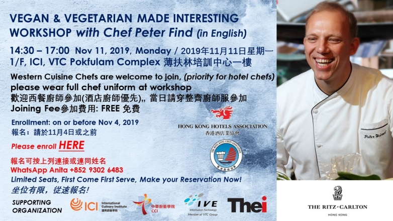 Vegan & Vegetarian Made Interesting with Chef Peter Find