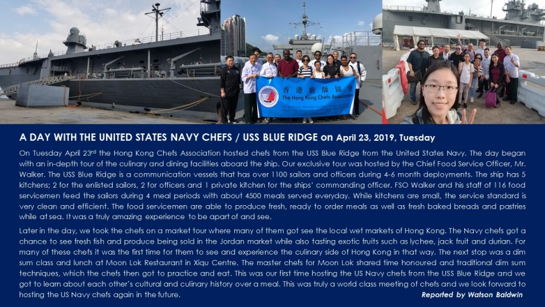 A Day with United States Navy Chefs, 2019 April 23