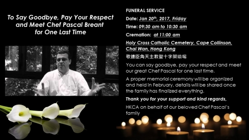 Say Goodbye to our Beloved Chef Pascal Breant