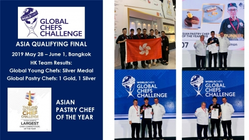 Global Chefs Asia Selection, 2019 June in THAIFEX, Bangkok